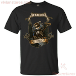 Jack Skellington and Metallica Rock Band T-Shirt-Vivianstores