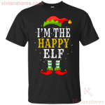 I'm The Happy Elf Matching Family T-Shirt-Vivianstores