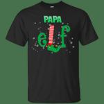 Elf Papa Costume Matching Christmas T-Shirt-Vivianstores