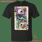 Jack The Nightmare Before Christmas Poker T-Shirt-Vivianstores