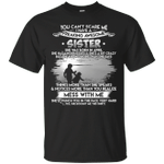 Proud Sister Of A Freaking Born In April T-Shirt-Vivianstores