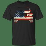 Jeep And America Flag T-Shirt-Vivianstores