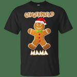 Gingerbread Mama Matching Family Funny Christmas T-Shirt-Vivianstores