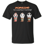 Jackpuccino For A Perfect Morning Funny Capuchino T-Shirt-Vivianstores
