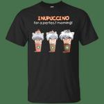Inupuccino For A Perfect Morning Funny InuYasha Capuchino T-Shirt-Vivianstores