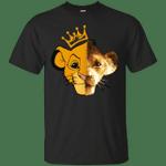 Half Face Simba Old and New Lion King T-Shirt Men Women Fan-Vivianstores