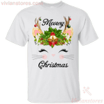 Meowy Christmas Holiday Merry Catmas T-Shirt-Vivianstores