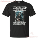 Legends Devil Are Born In November T-Shirt-Vivianstores