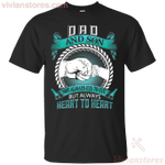 Dad And Son Not Always Eye To Eye T-Shirt-Vivianstores