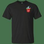 Snowman Pocket Merry Xmas Pajama T-Shirt-Vivianstores
