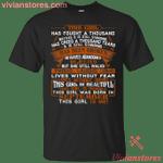 This September Girl Has Fought A Thousand Battles T-Shirt-Vivianstores