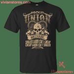 Union Mechanic - Proud Union Worker T-Shirt-Vivianstores
