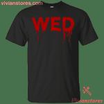 Wednesday Days of the Week Halloween Shark Costume Men Women T-Shirt-Vivianstores