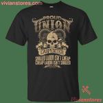 Union Carpenter - Proud Union Worker T-Shirt-Vivianstores