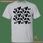 Cow Milk Halloween Costume T-Shirt Funny Party Idea-Vivianstores