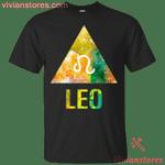 Leo Symbol Zodiac Birthday Men Women T-Shirt-Vivianstores