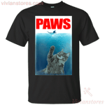 Paws Cat T-shirt-Vivianstores