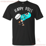 Happy Pills Dog T-Shirt-Vivianstores