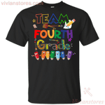 Team Fourth Grade Back To School T-Shirt-Vivianstores