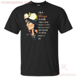 I Am A Virgo Woman I Have 3 Sides Women Birthday T-shirt-Vivianstores