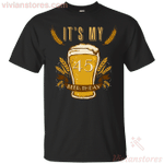 It's My 35 Beer-thday Birthday T-shirt For Beer Lover-Vivianstores