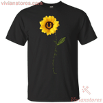 You Are My Sunshine Horse Footprint T-shirt Sunflower Horse Lover-Vivianstores