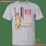Never Forget 9 11 T-Shirt-Vivianstores