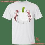 Pumpkin Baseball Halloween T-Shirt-Vivianstores