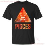 Pisces Symbol Zodiac Birthday Men Women T-Shirt-Vivianstores
