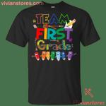 Team First Grade Back To School T-Shirt-Vivianstores