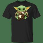 Baby Yoda Hugging Ferret T-shirt VA03