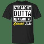 Straight Outta Quarantine 2020 Scientist T-shirt HA04