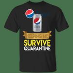 Diet Pepsi Helping Me Survive Quarantine T-shirt HA04