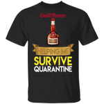 Grand Marnier Helping Me Survive Quarantine T-shirt HA04