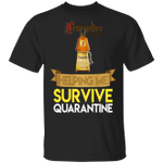 Frangelico Helping Me Survive Quarantine T-shirt HA04