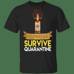 Wild Turkey Helping Me Survive Quarantine T-shirt HA04