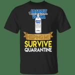 Absolut Helping Me Survive Quarantine T-shirt HA04