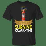Aperol Helping Me Survive Quarantine T-shirt HA04