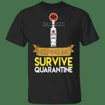 Bacardi Helping Me Survive Quarantine T-shirt HA04
