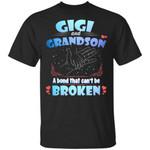 Gigi And Grandson A Bond That Can't Be Broken T-Shirt