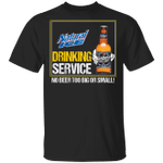 Beer Drinking Service Natural Ice T-shirt MT01