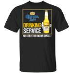 Beer Drinking Service Corona Light T-shirt MT01