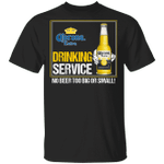 Beer Drinking Service Corona Extra T-shirt MT01