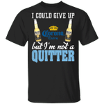 I Could Give Up Corona Extra But I'm Not A Quitter Beer T-shirt MT01