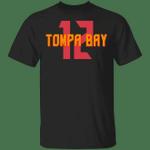 Tompa Bay 12 T-shirt Tom Brady Buccanneers Tee VA04