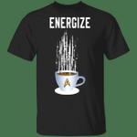 Energize Star Trek Coffee T-shirt MT04