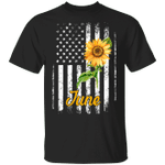 Sunflower American November Girl T-shirt Birthday Tee MT04