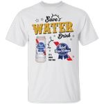 Save Water Drink Pabst Blue Ribbon T-shirt Beer Tee HA04