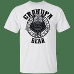 Vikings Grandpa Bear T-shirt Family Tee MT04