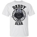 Vikings Daddy Bear T-shirt Family Tee Father's Day Father's Day Gift MT04